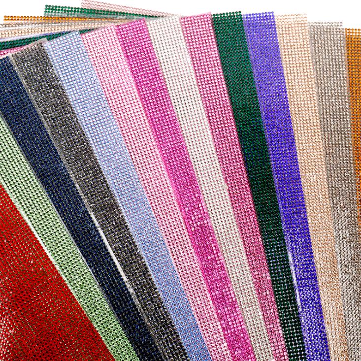 hot melt glue rhinestone sheet