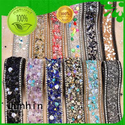 Junhin top selling bulk rhinestones wholesale for textile
