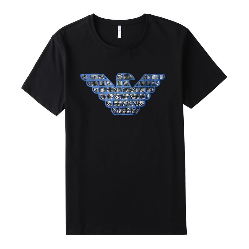 rhinestone heat transfer t-shirt