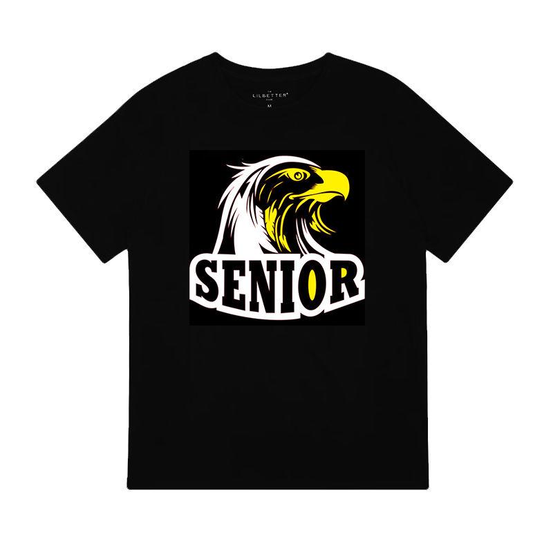 Custom t shirts deigns eagle heat transfer vinyl printing wholesale