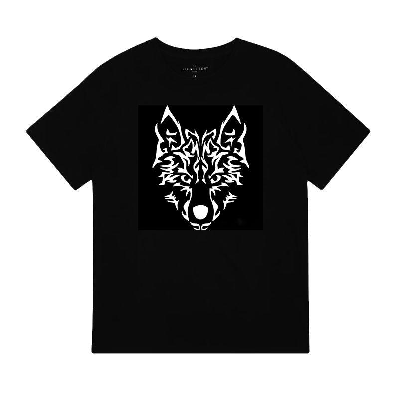 Custom clothing t shirt printing fox design heat transfers