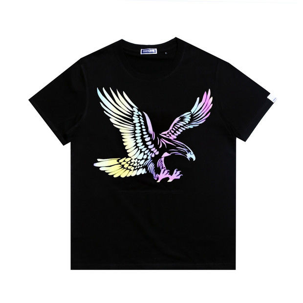 Custom wholesale t shirt eagle design heat transfer vinyl printing