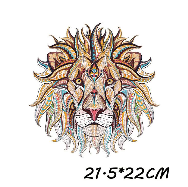 lion design printing