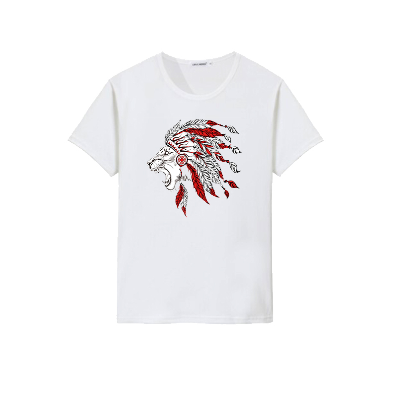 lion design t-shirt