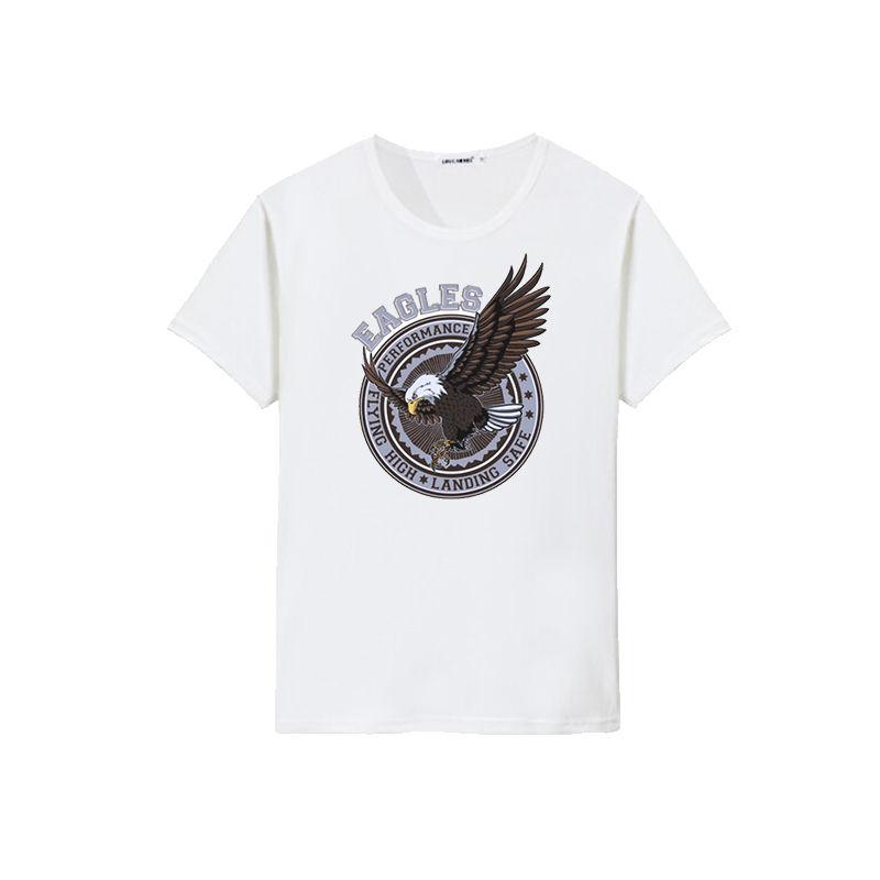 Fashion high quality clothing 100% cotton eagle design printing man t-shirt custom