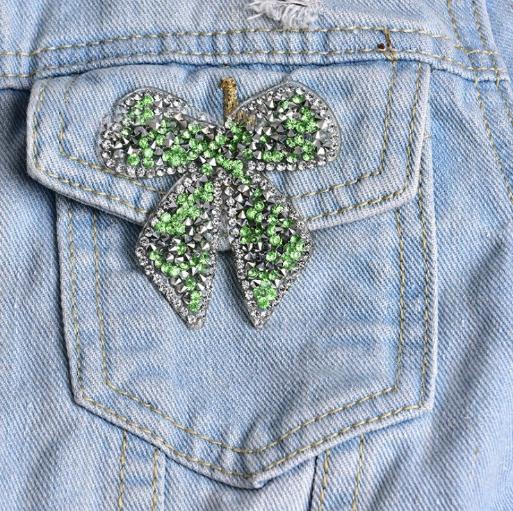 rhinestone for clothing applique