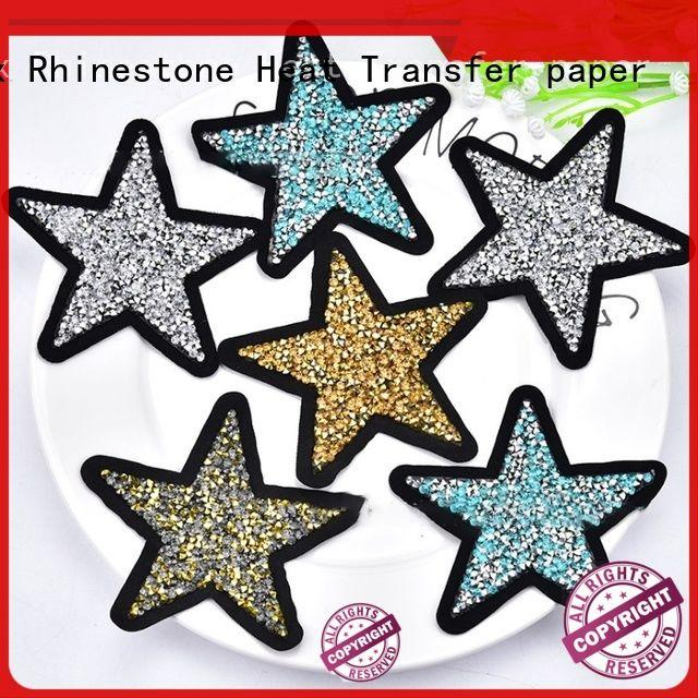 Junhin modern rhinestone sheets manufacturer for promotion