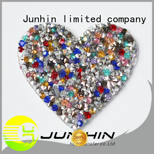 Junhin latest rhinestone patterns best manufacturer for decoration
