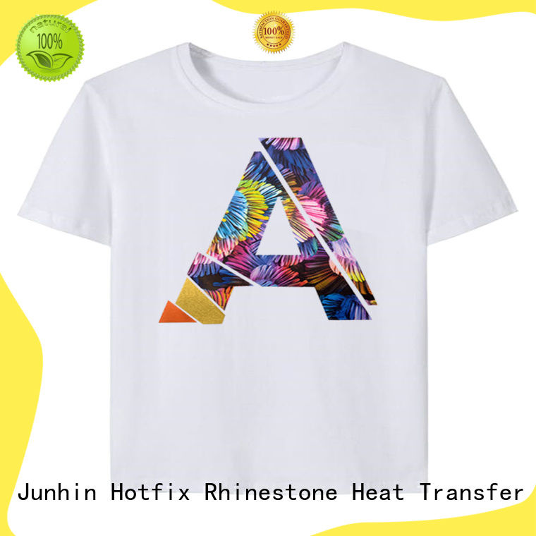 cost-effective rhinestone t shirt maker supplier for clothing