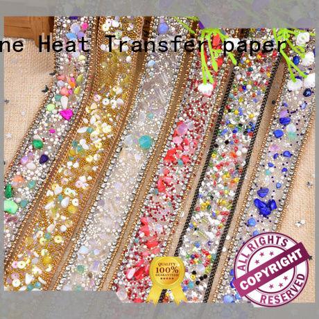 Junhin worldwide iron on rhinestone sheets wholesale for gifts