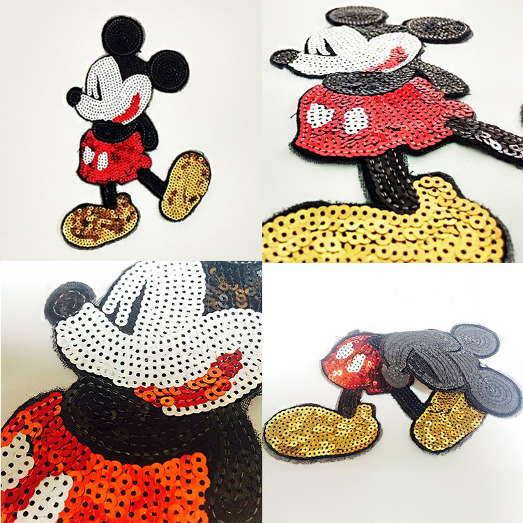 Michey sequins patch