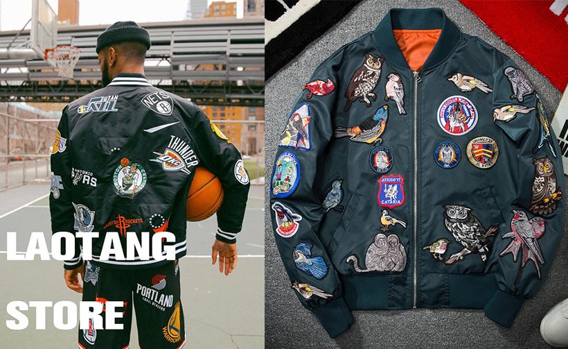 custom jacket patches