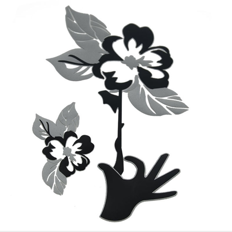 Wholesale custom flower pattern 3D heat transfer printing for t-shirt design