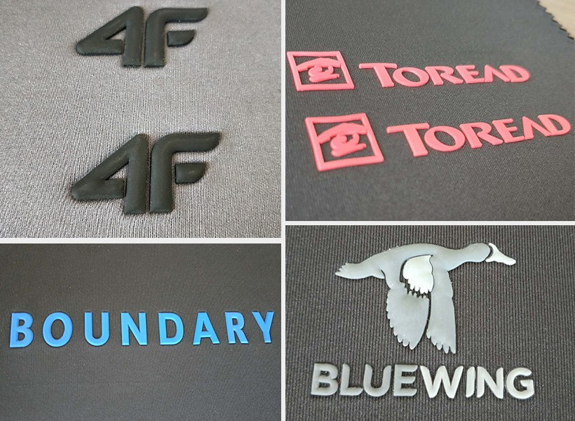 3d silicone label