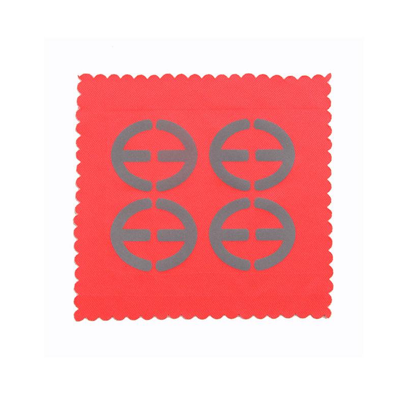 Custom reflective heattransfer vinyl printing silver logo for garment