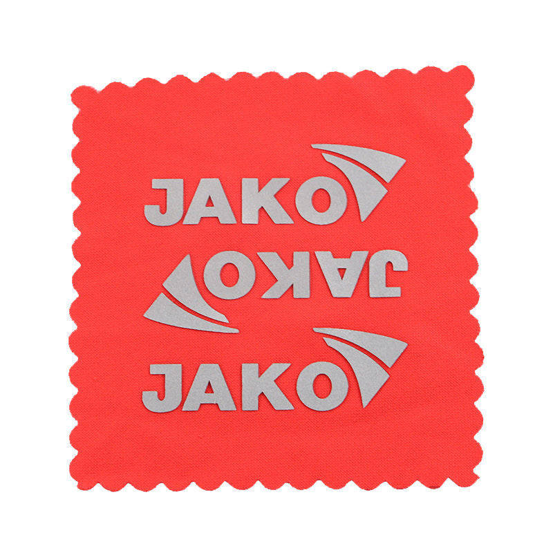 Custom diy logo design reflective heat transfer sticker for clothing