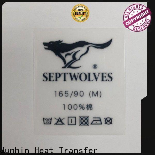 Junhin heat transfer sticker online supply for clothing