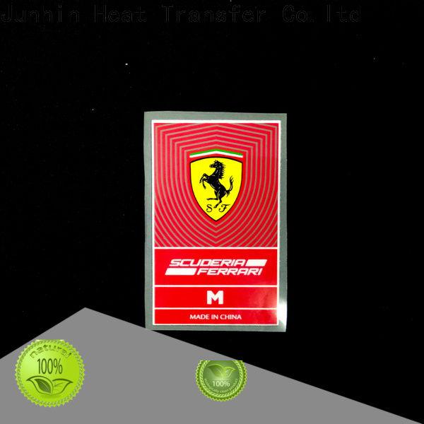 Junhin best price custom glitter heat transfers manufacturer for bags