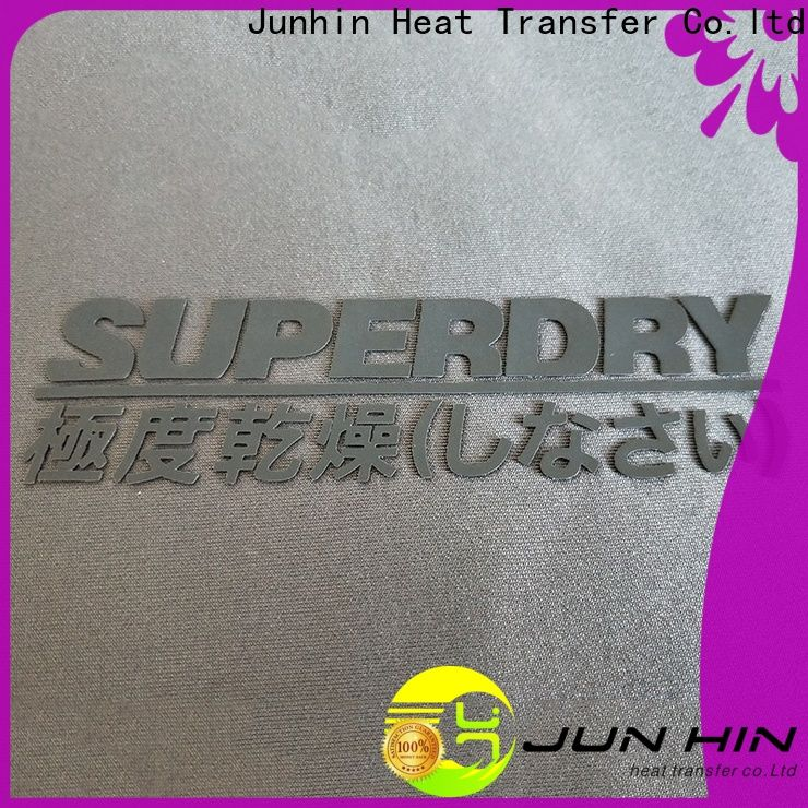 Junhin heat transfer vinyl on silicone company for decoration