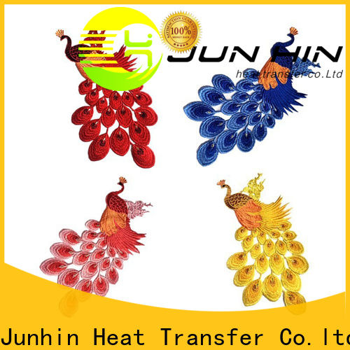 Junhin make custom patches manufacturer for decoration