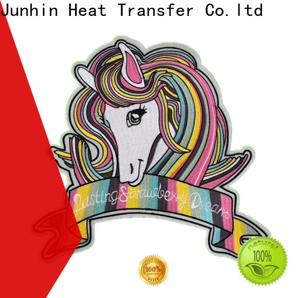 Junhin buy embroidered patches manufacturer bulk production