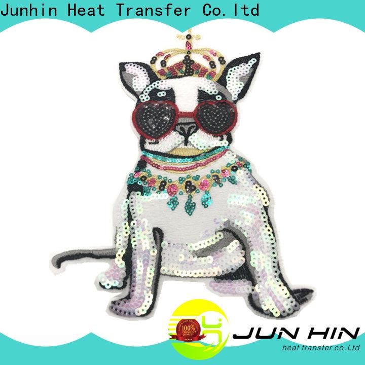 Junhin modern pearl applique best manufacturer for apparel