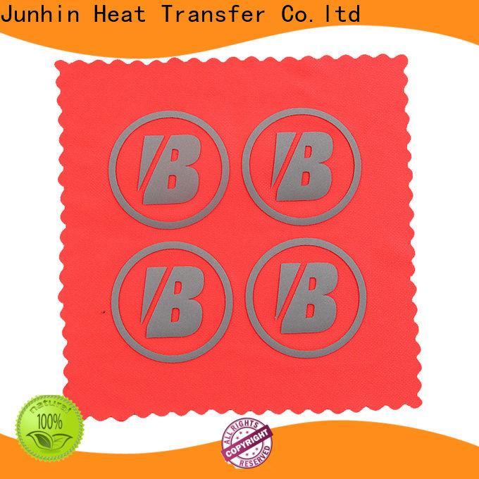 Junhin rhinestone sheets heat press best supplier for textile