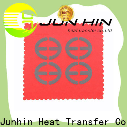 Junhin hot-sale raised silicone heat transfer with good price for decoration
