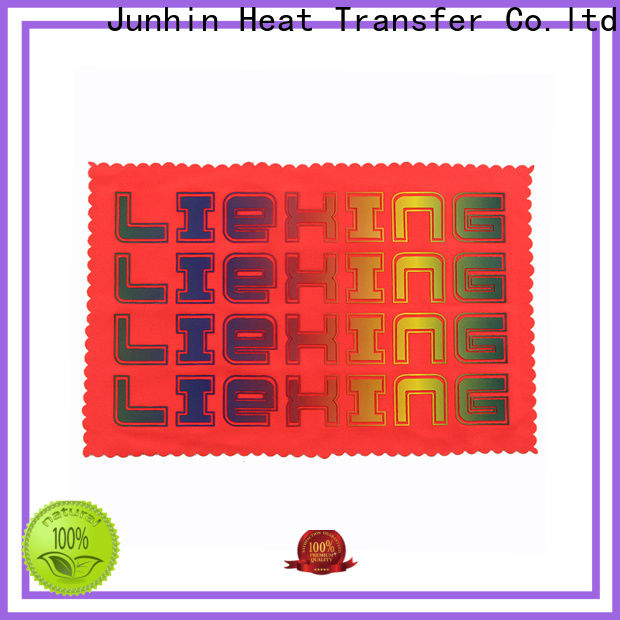 Junhin heat press rhinestone transfers with good price for textile