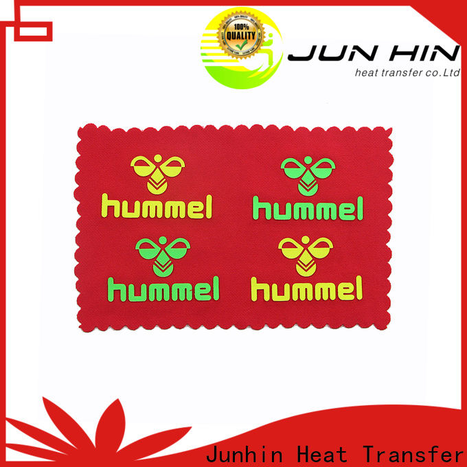 hot selling raised rubber heat transfer series for garments