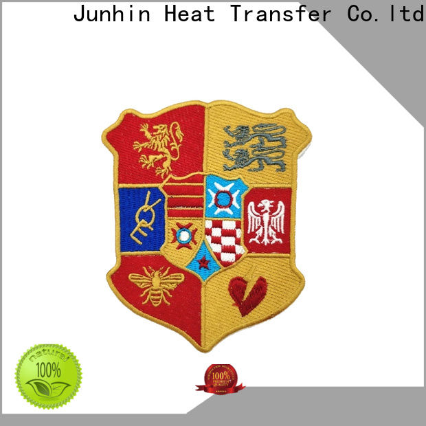 Junhin new embroidered patches online with good price for sale