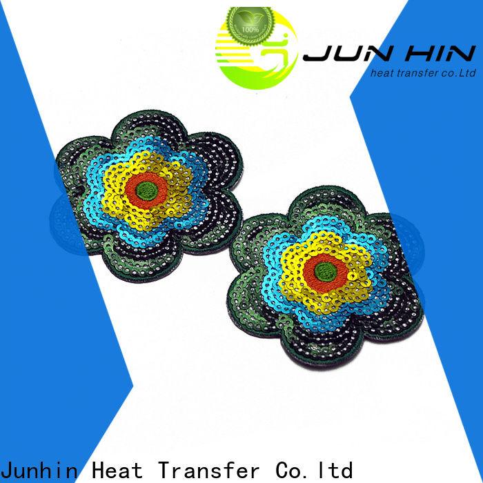 Junhin cost-effective sequin applique letters personalized bulk buy