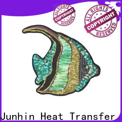 Junhin crystal beaded trim design for clothing