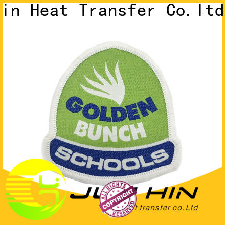 Junhin custom embroidered patches design online suppliers for textile