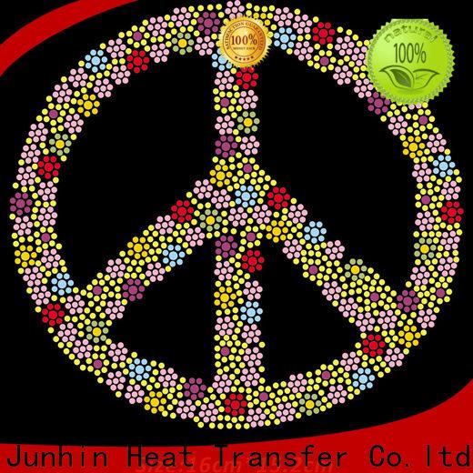 Junhin custom rhinestones for clothing design for promotion