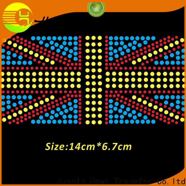 Junhin hotfix swarovski rhinestones supply for bags