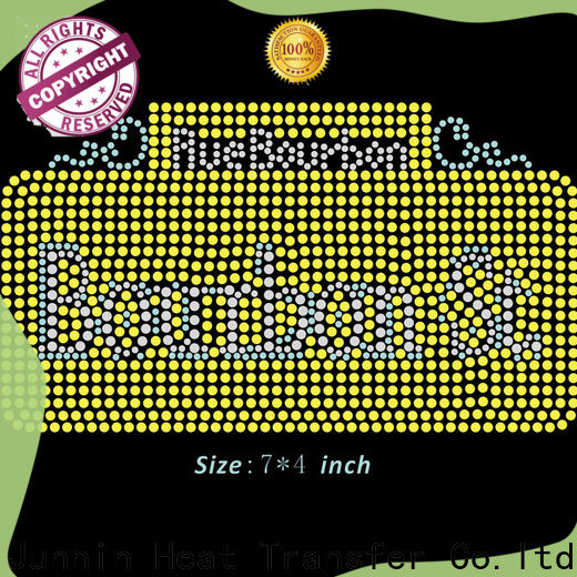 Junhin best value rhinestone templates for sale factory direct supply for garments