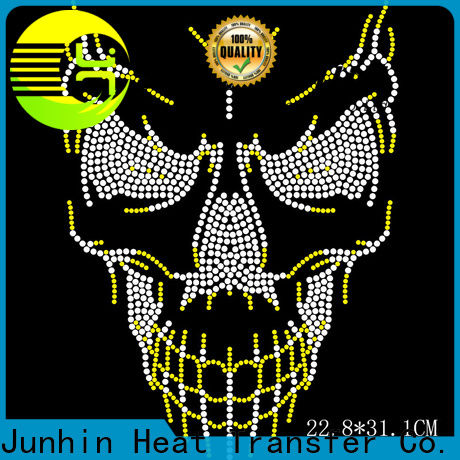 factory price rhinestone heat transfers wholesale for bags