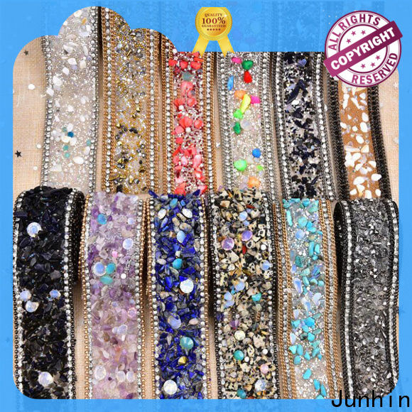 Junhin rhinestone sheets heat press wholesale for apparel