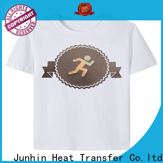 Junhin factory price personalised rhinestone iron on transfers company for promotion