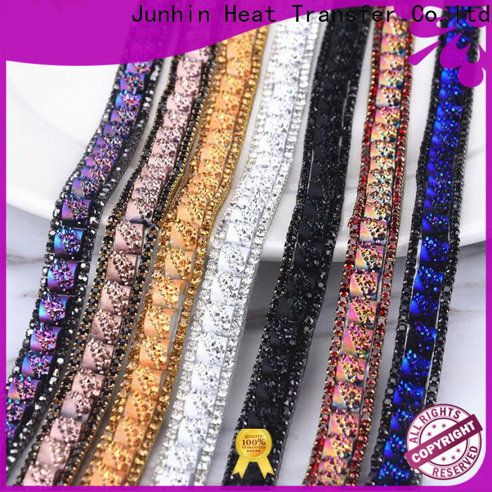 Junhin rhinestone sheets inquire now for apparel