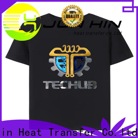 Junhin personalized bling t shirts manufacturer bulk production