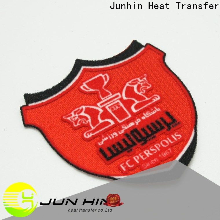 Junhin flock iron on personalized for sale
