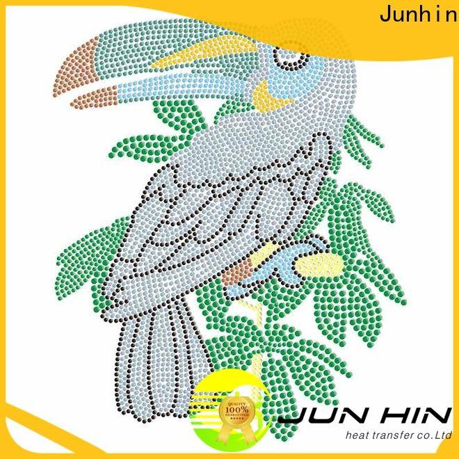 Junhin high-quality make iron on transfers series for garments