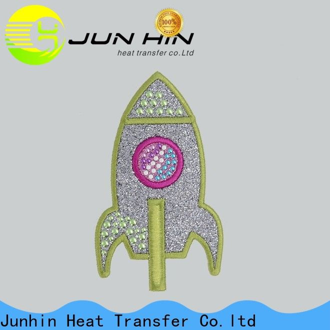 Junhin custom applique patches directly sale for sale