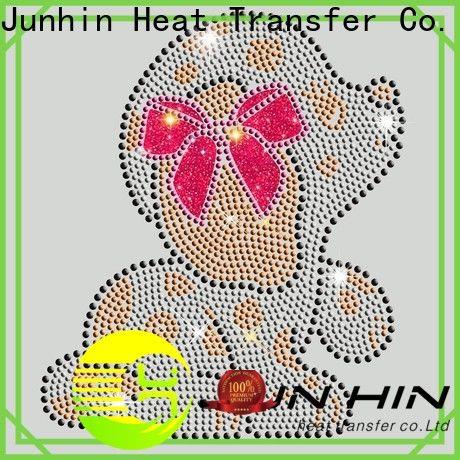 Junhin hotfix rhinestones supplier for apparel
