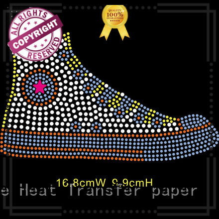 Junhin bling heat transfers series for clothing